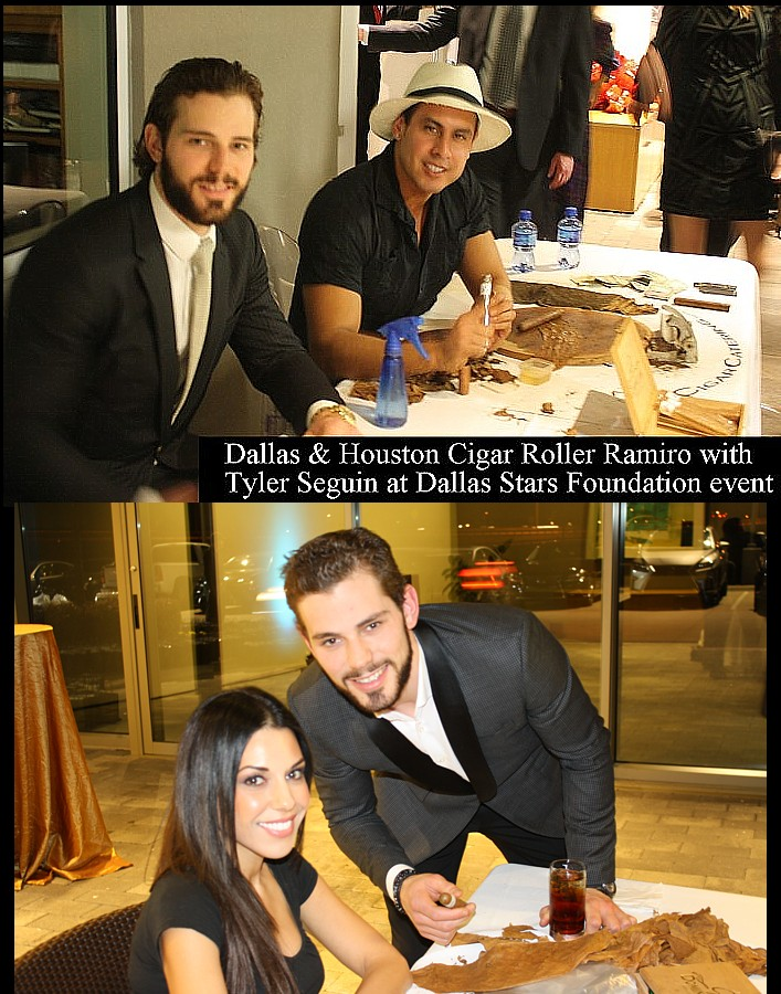 Dallas Stars with Cigar Roller, Plano Gala