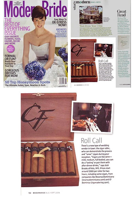 CF Cigars Press Page